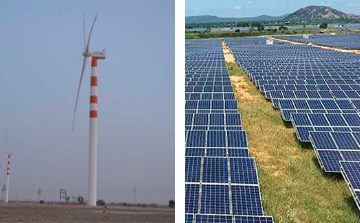 ReNew Power Wind and Solar Power IPP Project